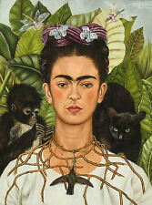 FRIDA KAHLO 8 GLOSS POSTER PRINT - SIZE A3 297X420MM PLUS FREE SURPRISE POSTER