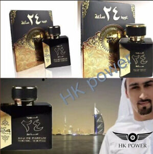 OUD 24 HOURS 100ML 100% ORIGINAL NOT FAKE LONG LASTING WITH FREE DEODRANT