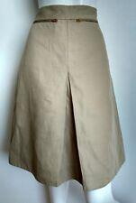 COS high waist casual skirt size 10 --BRAND NEW-- knee length cotton/linen blend