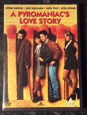 PYROMANIAC'S LOVE STORY SUPER RARE DVD MINT CONDITION FREE POST