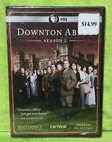 Downton Abbey: Season 2 Original UK Edition (DVD, 2012, 3-Disc Set) NEW