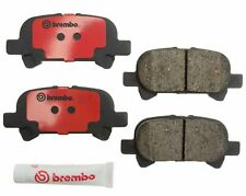 NEW REAR BREMBO BRAKE ROTORS /& GENUINE TOYOTA BRAKE PAD SET 42431-33040
