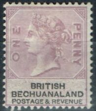 Mint Hinged Single Victorian (1840-1901) Bechuanaland Stamps
