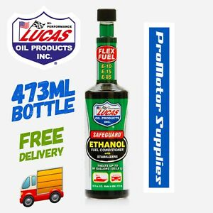 40576 Lucas Safe Guard Ethanol E10 Fuel Treatment Conditioner Additive 473ml