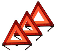 Triangle Kit Emergency Reflective Sign Safety Warning Dot Approved Roadside Road