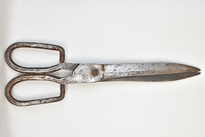 Antique Handcrafted Swedish Scissors No. 1 B & O Liberg Rosenfors Eskilstuna