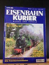 Eisenbahn Kurier 1995 June Modell Und Vorbild 6/96 Juni Nr.273