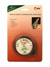 Humidity-Temperature Indicator Thermometer Hygrometer Gauge Fahrenheit & Celsius