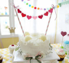 Easy Birthday Cake Simple Heart Shape Party Topper Party Decorations Elegant UK