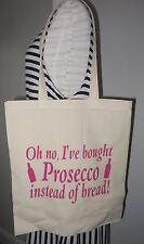 Novità Borsa OH no ho comprato Prosecco invece di pane-Cotone Shopping Bag
