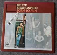 Bruce Springsteen, born to run / meeting across the river, SP - 45 tours Espagne