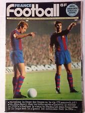 FRANCE FOOTBALL N°1727 15 MAI 1979 BARCELONE - COUPE DES COUPES