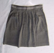 theory Above Knee Length Pleated Belted Gray Skirt - Size 4