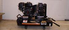 Air Compressor Mi-T-M 6.5 hp Gas Power Single Stage Honda Engine Portable New