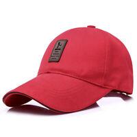 CAPPELLO cappellino con visiera precurvata berretto golf baseball