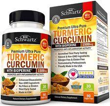 Suplemento Dietario De Curcumina Cúrcuma Bioperina Alivio Dolor Articulaciones