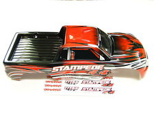 NEW TRAXXAS STAMPEDE 4X4 Body  RED RS5R
