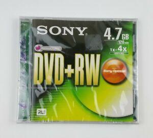 Sony DVD + RW Sony Optical 4.7GB 120min 1x 4x Compatible