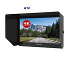 """LILLIPUT A12 12.5"""" 4K monitor 3840 x 2160 with HDMI, Displayport and SDI Input"""