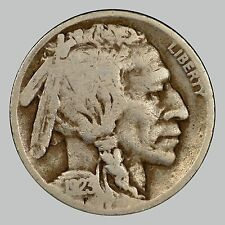 1923 5C Buffalo Five Cent, VF, SEEMS TO HAVE EXTRA LOOP IN 9