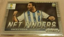 2014 Panini World Cup Prizm - Gonzalo Higuain Net Finders card #1