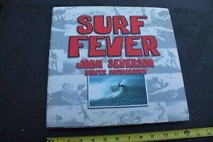 SURF FEVER John Severson Surfer Autographed Signed Original Vintage Surfing BOOK