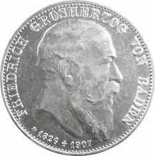 J 37 5 marchi Baden Friedrich sulla morte 1907 in VZ-STG 590021