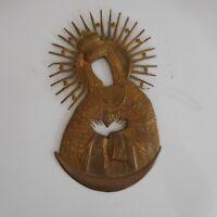 Icône orthodoxe christianisme cuivre fait main XIXe XXe art déco design PN