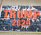 Donald Trump 2020 Flag FREE SHIPPING CAMO 3x5 Keep America Great Flags Banner