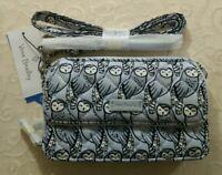 NWT Vera Bradley Iconic RFID All In One Crossbody Bag Wristlet Wallet in Owls