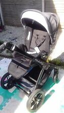 jane muum pushchair single. in grey and black excellent condition.