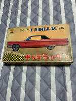 Custom Cadillac 1/25 scale Red Plastic model kit Aoshima from Japan Antique 1967