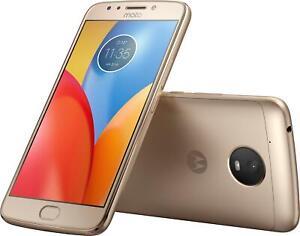 "New Motorola XT1775 Moto E Plus 4th Gen 16GB Unlocked 5.5"" Smartphone Fine Gold"