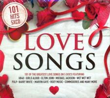 101 Love Songs Hits 5CD Compilation NEW 2018