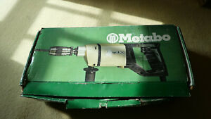 Vintage Metabo Hammer Drill 43113/2  110V Unused mid 1980s or earlier model(?)