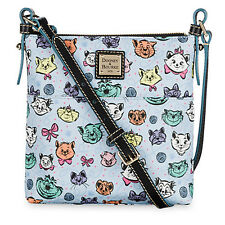 Dooney & Bourke Disney CAT Letter Carrier Crossbody Dogs Bag Cheshire Aristocats