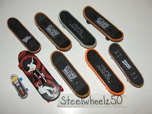 McDonalds 9 Finger Skateboard Lot Young Justice Star Wars Clone Wars Tech Deck