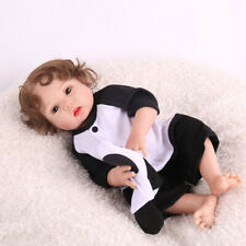 "Anatomically 16"" Realistic Reborn Baby Doll Full Body Silicone Xmas Gifts Dolls"