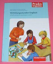 Vertretungsstunden Englisch - Schnell und klar für die Klassen 3 u. 4