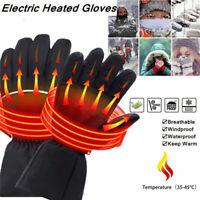 Wasserdicht Beheizbare Handschuhe Akku Beheizten Winterhandschuhe Warmawear NEU