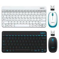 Logitech MK245 USB Nano Wireless 1000DPI Ergonomic Mini Keyboard Mouse Set #Z