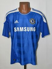 CHELSEA 2011/2012 HOME FOOTBALL SHIRT JERSEY ADIDAS SIZE L ADULT