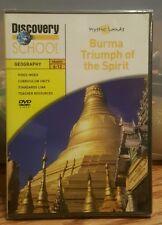 Discovery School Geography Grades 6-12 Mystic Lands Burma Triumph of the Spirit