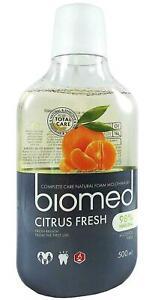 Biomed Citrus Fresh Mouthwash - 500ml