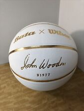 Bata x Wilson John Wooden Basketball Collectors Item Extremely Rare! Ucla Bruins
