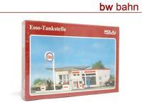 Pola H0 Bausatz 568 Esso-Tankstelle Neu