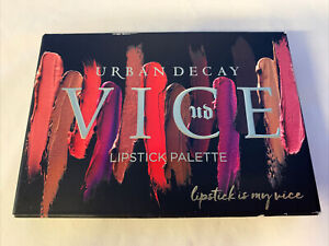 URBAN DECAY vice LIPSTICK palette BLACKMAIL DISCONTINUED NEW IN BOX!