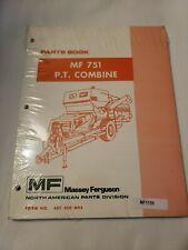 Massey Ferguson Mf 751 Pull Type Combine Parts Manual Catalog
