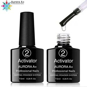 "ACTIVATOR Dipping System Dip Nail ""NO LAMP"" Powder Acrylic Nails 7.5ml (Step 2)"
