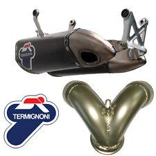 Auspuff Motorrad Termignoni Ducati Panigale 1199 2012 Titan Cunb + Adapter D155Y